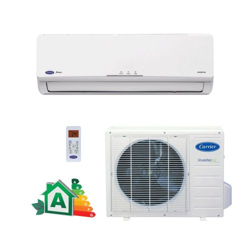 Ar Condicionado Split Hi-Wall Carrier Inverter Novo X-Power 12.000 BTUs Quente/Frio 220V