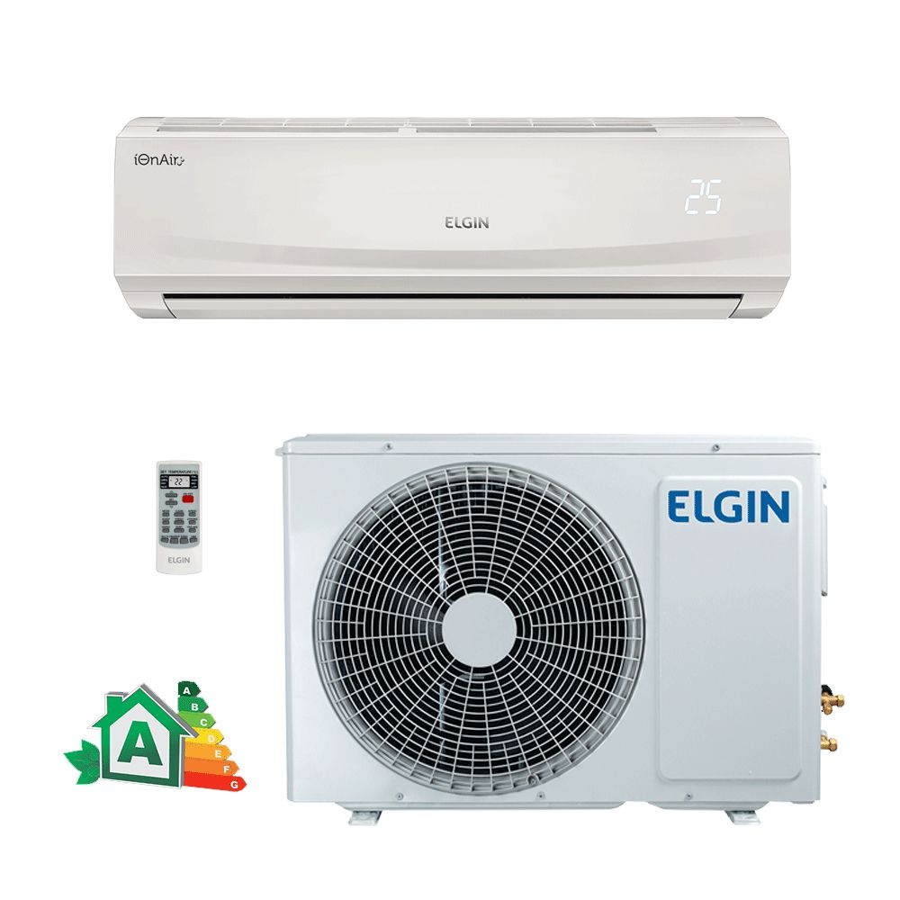 Ar Condicionado Split Hi-Wall Eco Plus Elgin 12.000 BTUs Frio 220V