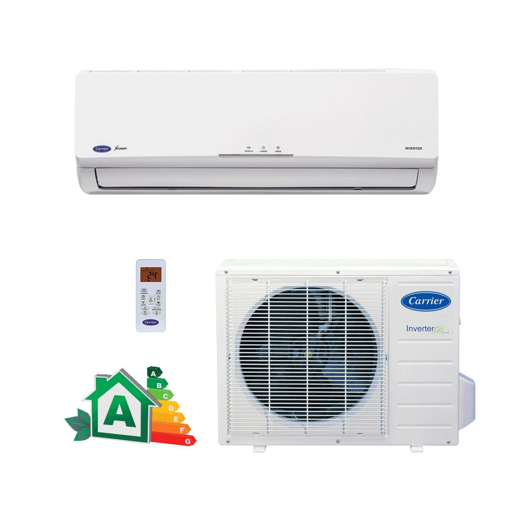 Ar Condicionado Split Hi-Wall Carrier Inverter Novo X-Power 22.000 BTUs Quente/Frio 220V